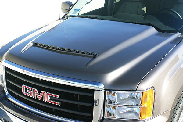 rk sport ram air hoods flat black finish