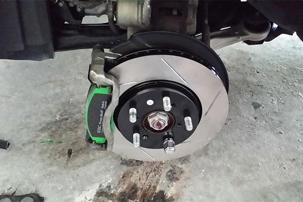 2722 stoptech slotted brake rotors honda odyssey