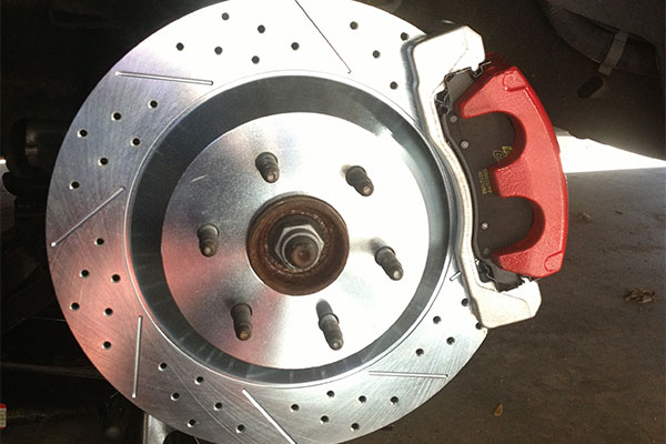 3974 baer eradi speed rotors cadillac escalade