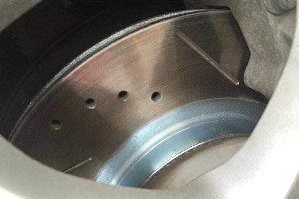 5870 powerstop brake kit acura rl 2005