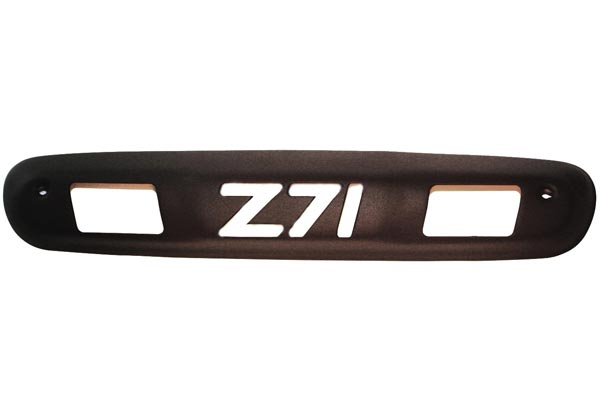 ami logo third brake light covers black z71