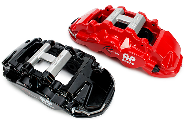 ap racing big brake kits calipers black red