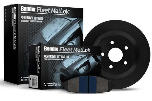 bendix fleet metlok brake pads fleet 4