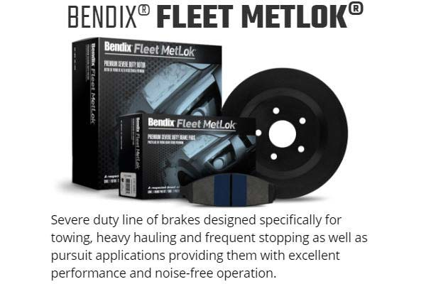 bendix fleet metlok brake pads graph 1