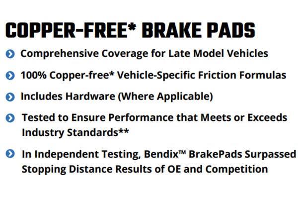 bendix premium brake pads info 4