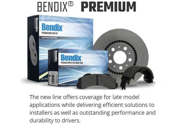 bendix premium brake pads premium graph 1