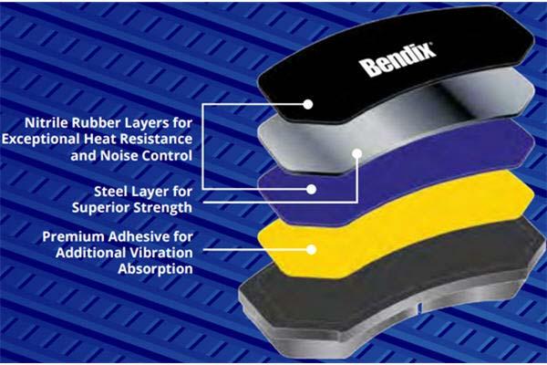 bendix premium brake pads shim graph 3