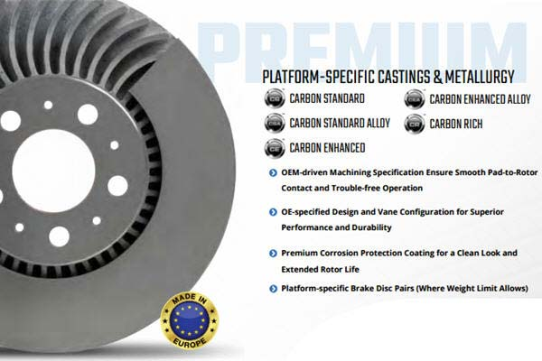 bendix premium brake rotor features 2