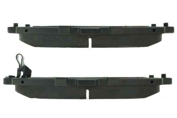 centric premium semi metallic brake pads r1