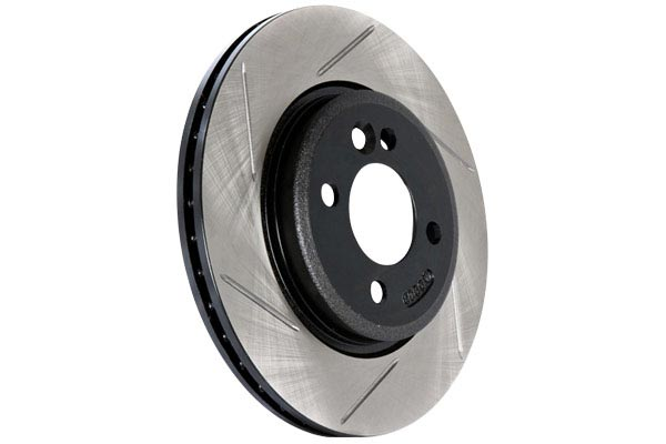 centric c tek drilled and slotted sport brake kit rotor