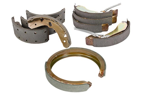 centric premium brake shoes sizes