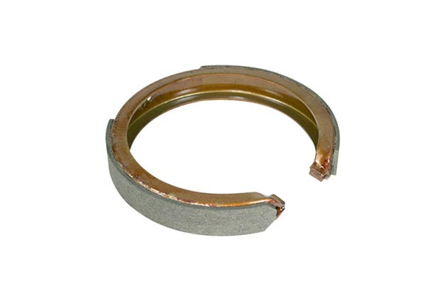 centric premium parking brake shoes detail