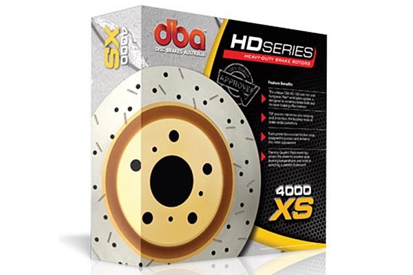 dba 4000 xs rotor rotors box