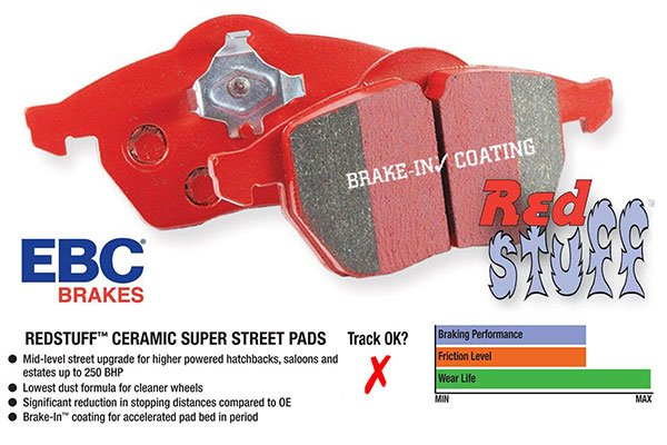 ebc brake kits red stuff brake pads diagram