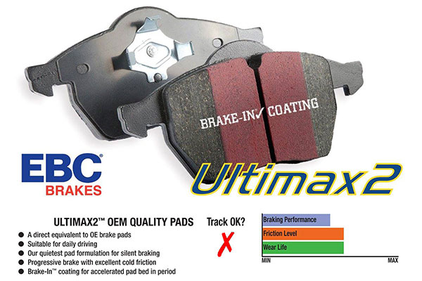 ebc brake kits ultimax brake pads diagram