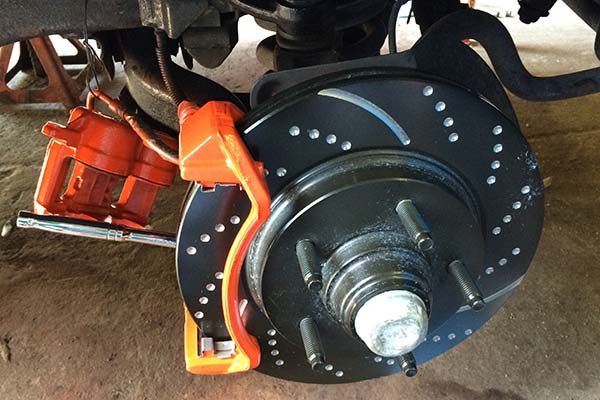 ebc sport rotors installed on 2002 ford f150