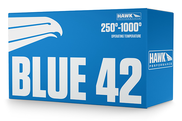 hawk blue 42 racing brake pads box
