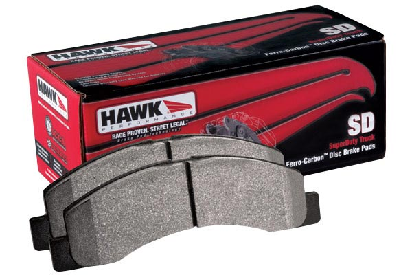 hawk superduty brake kit pads