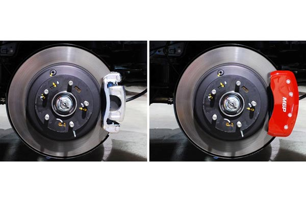 before installing mgp caliper covers and after installing mgp caliper covers