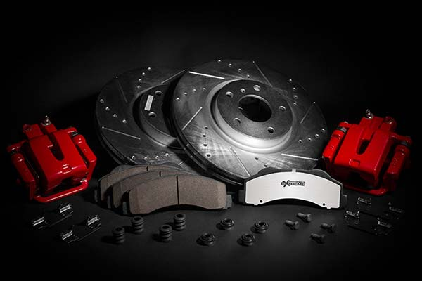 power stop z36 complete kit with red calipers