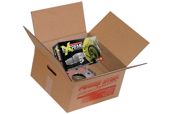 power stop z26 extreme street warrior caliper brake kit box contents