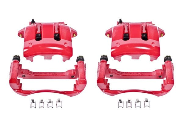 power stop z36 truck and tow caliper brake kit caliper set