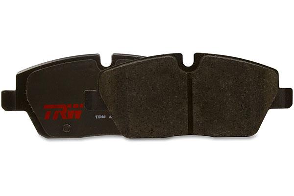 trw premium brake pads front