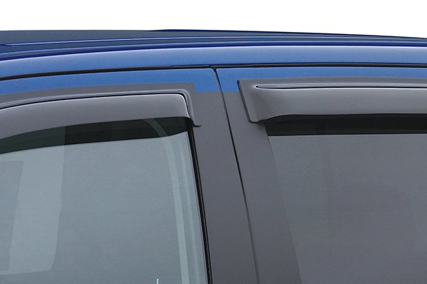 egr slimline window deflectors closeup