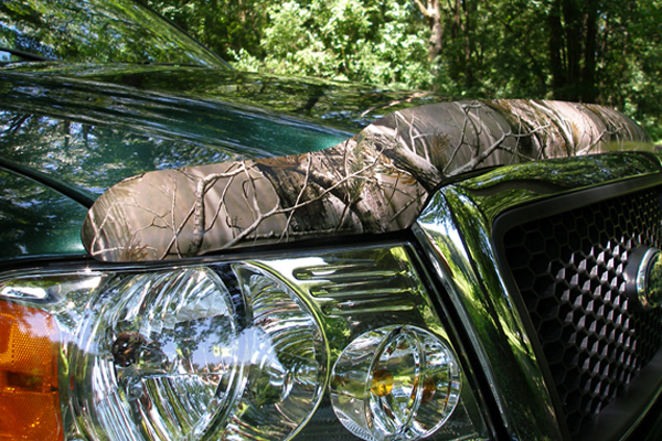 stampede vigilante premium vp series camo hood protector details