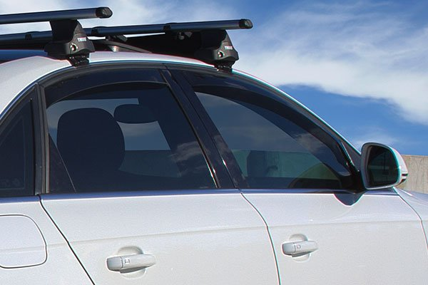 weathertech in channel side window deflectors audi a4 lifestyle