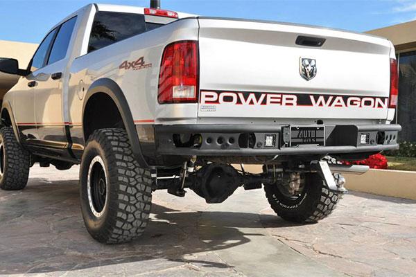 addictive desert designs dimple rear bumper r1