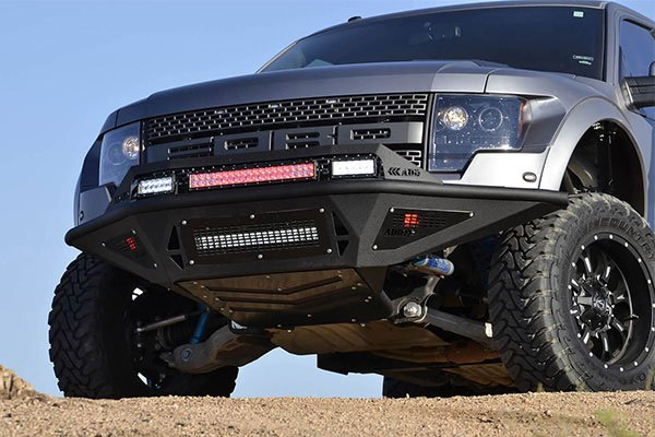 addictive desert designs stealth fighter front bumper r1