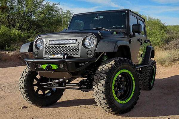 addictive desert designs venom front bumper r3