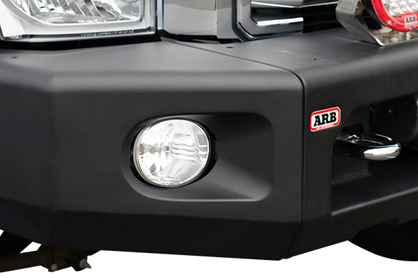 arb modular front bumpers winch fog light