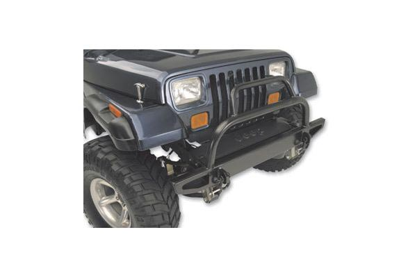 body armor front bumeper on yj
