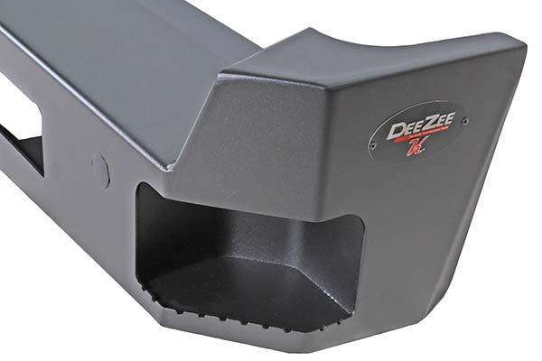 dee zee k series rear bumper detail
