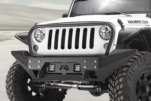 fab fours full metal jacket jeep front bumper lifestyle 2