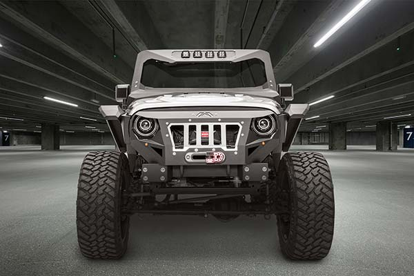 fab fours grumper jeep front bumper lifestyle 1