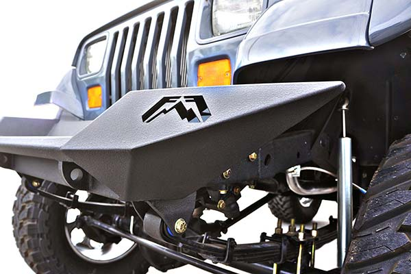 fab fours lifestyle front bumper detail