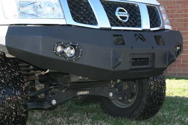fab fours premium front bumper detail