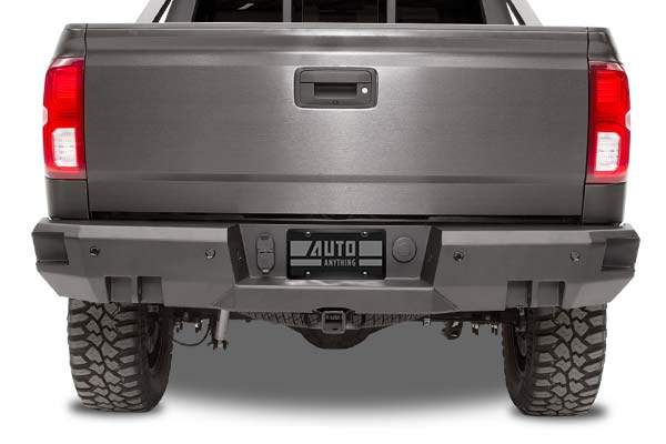 fab fours premium rear bumper installed