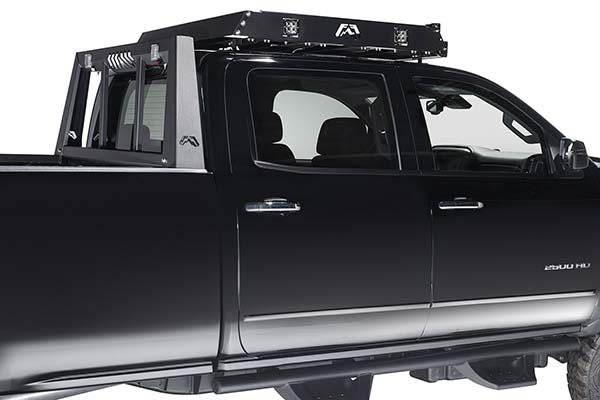 Fab Fours Roof Rack Matte Black Or Raw Steel Free