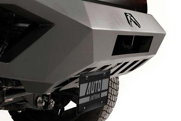 fab fours vengeance front bumper detail2