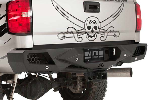 fab fours vengeance rear bumper detail2