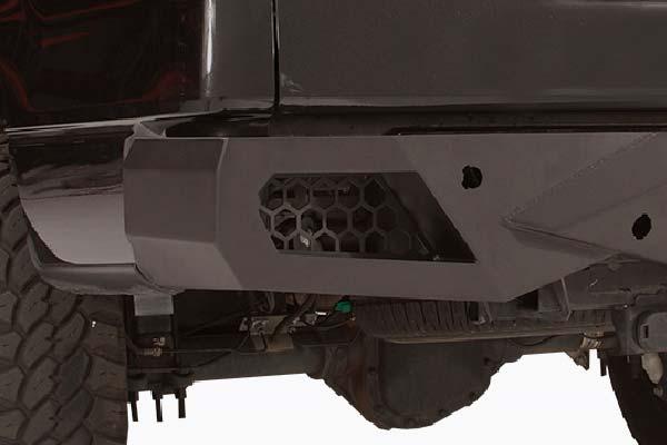 fab fours vengeance rear bumper detail3