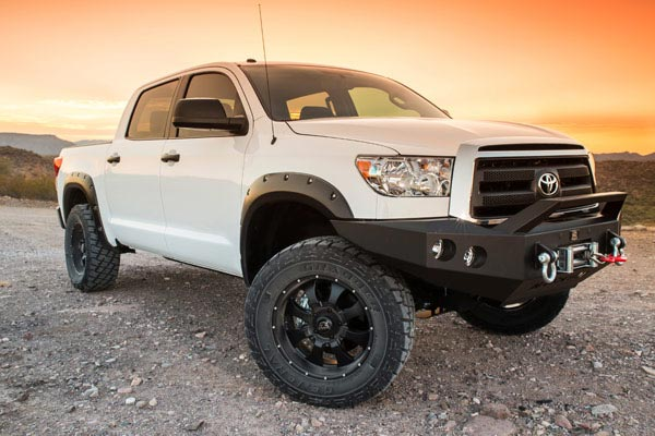 ici magnum front bumpers installed toyota tundra