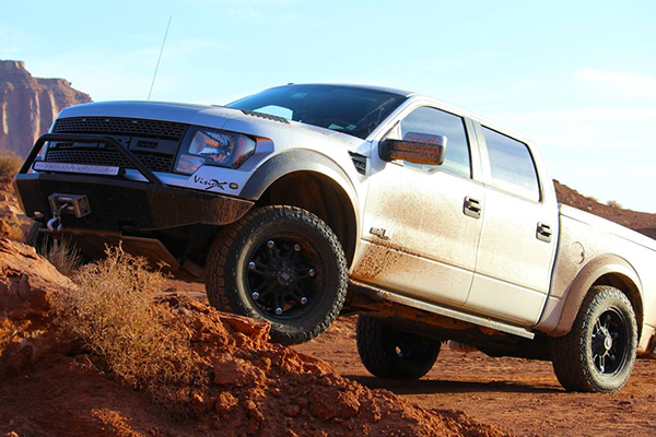 iron cross bumpers ford raptor