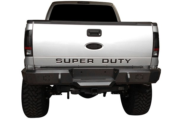 iron cross hd rear bumpers f250 lifestyle