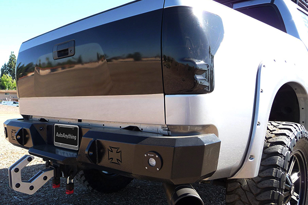 iron cross hd rear bumpers tundra lifestyle