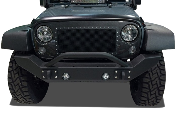 iron cross jeep front bumpers front